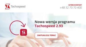 Tachospeed 2.93 aktualizacja